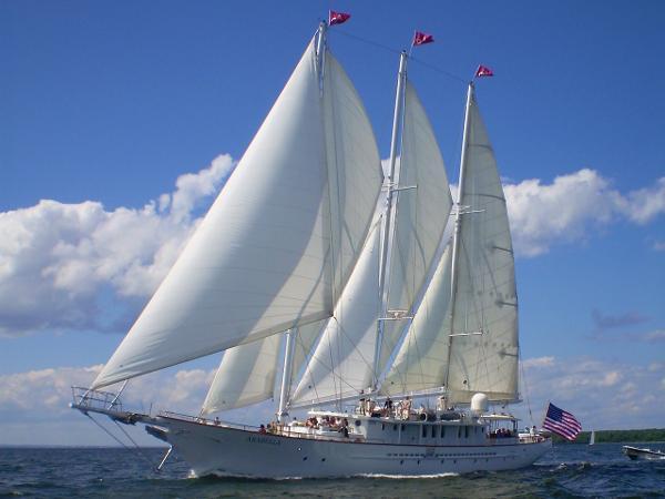 Palmer Johnson 157' Staysail Schooner