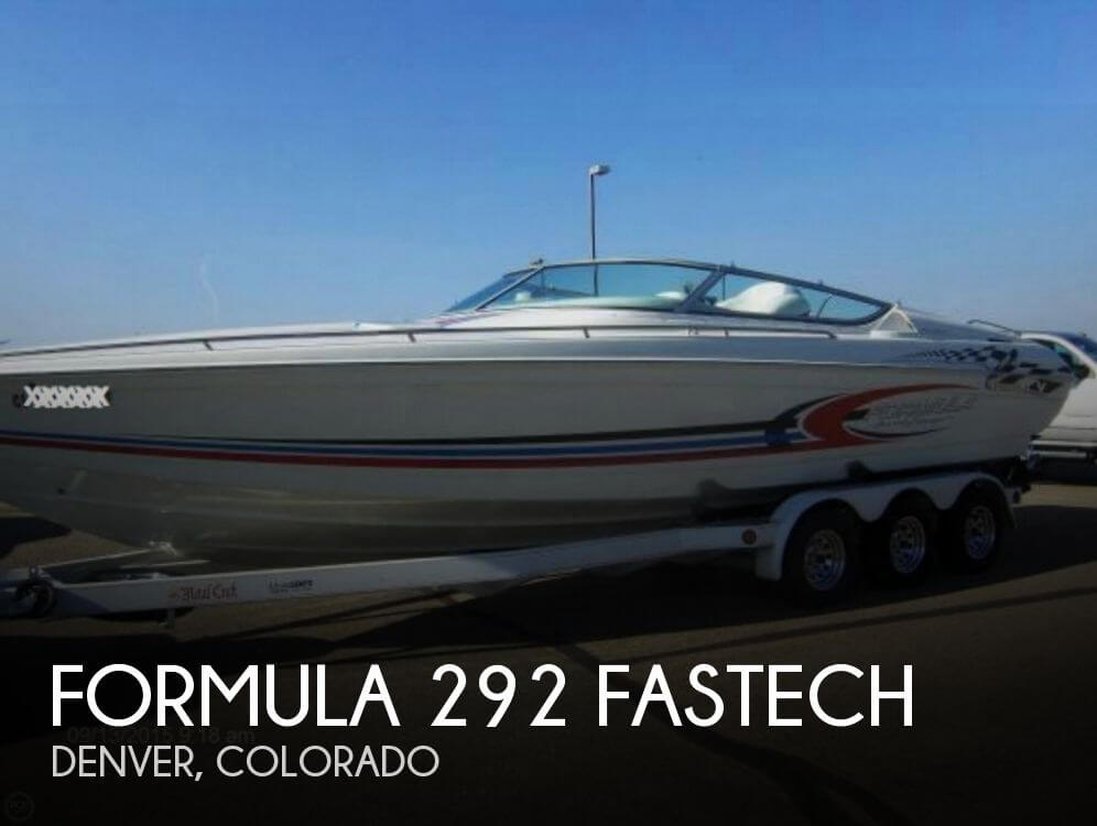 Formula 292 FASTech 2002 Formula 292 Fastech for sale in Denver, CO