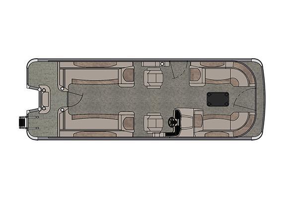Avalon Catalina Quad Lounge - 25' Manufacturer Provided Image