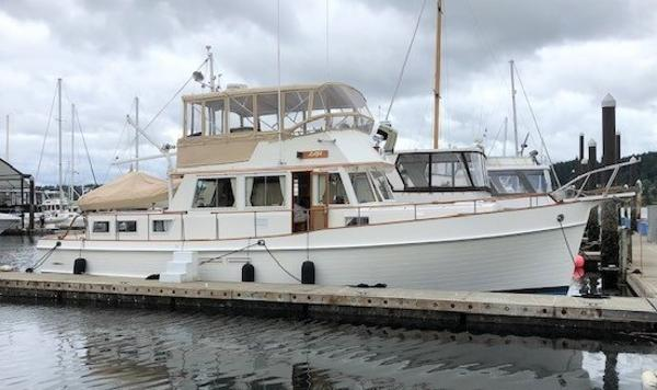 Grand Banks 46 Classic Starboard Profile