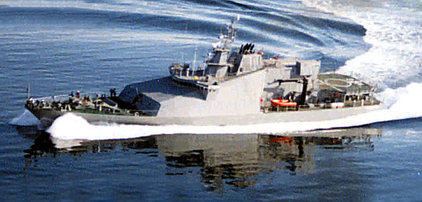 Custom Military Patrol Vessel Photo 1