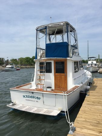 1990 Cape Dory 30 Flybridge Hardtop, Danvers Massachusetts