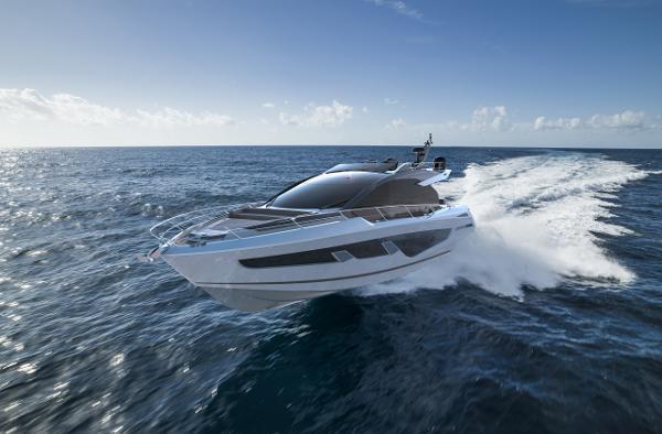 Sunseeker 65 Sport Yacht Manufacturer Provided Image: Sunseeker 65 SPORT YACHT