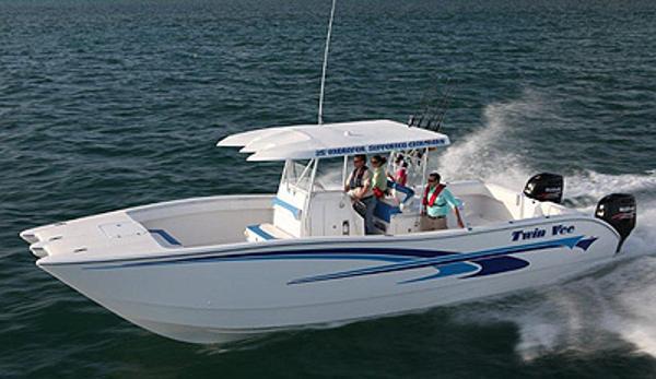 Twin Vee 35' Hydofoil Catamaran
