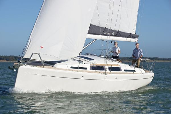 Hanse 345 Manufacturer Provided Image: Hanse 345