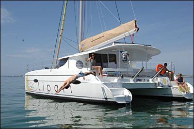 Fountaine Pajot Lipari 41 Manufacturer Provided Image: Fountaine Pajot Lipari 41 Stern