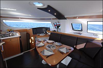 Fountaine Pajot Lipari 41 Saloon