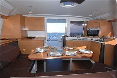 Fountaine Pajot Lipari 41 Interior