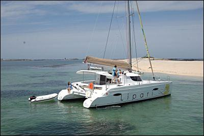 Fountaine Pajot Lipari 41 Grand Large Sister boat