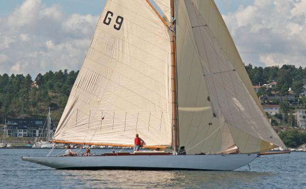 Johan Anker 46 ft Gaff rigged 9 Metre R