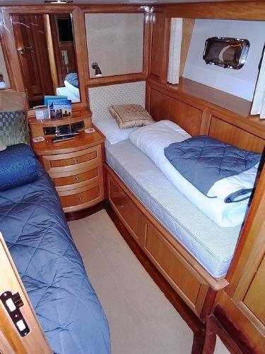 Forward portside twin berth guest cabin