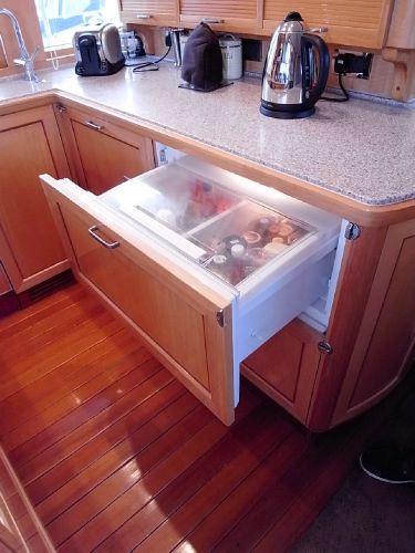 Galley fridge