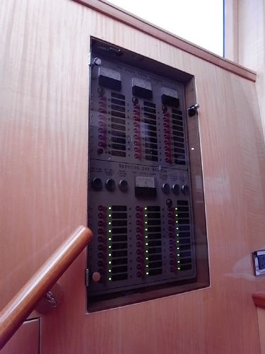 Electrical switch panel