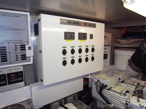 Engine room electrics