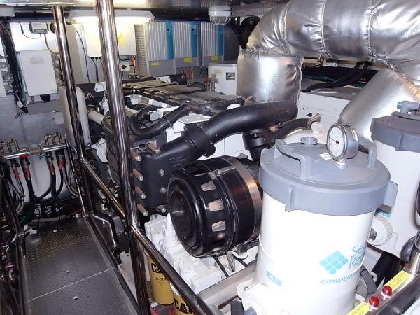 Starboardside engine