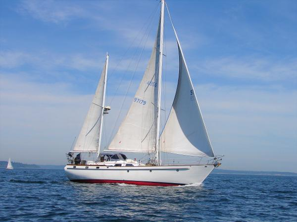 Transpacific Marine 49 Transpac Mark ll Beautiful lines of a world cruiser