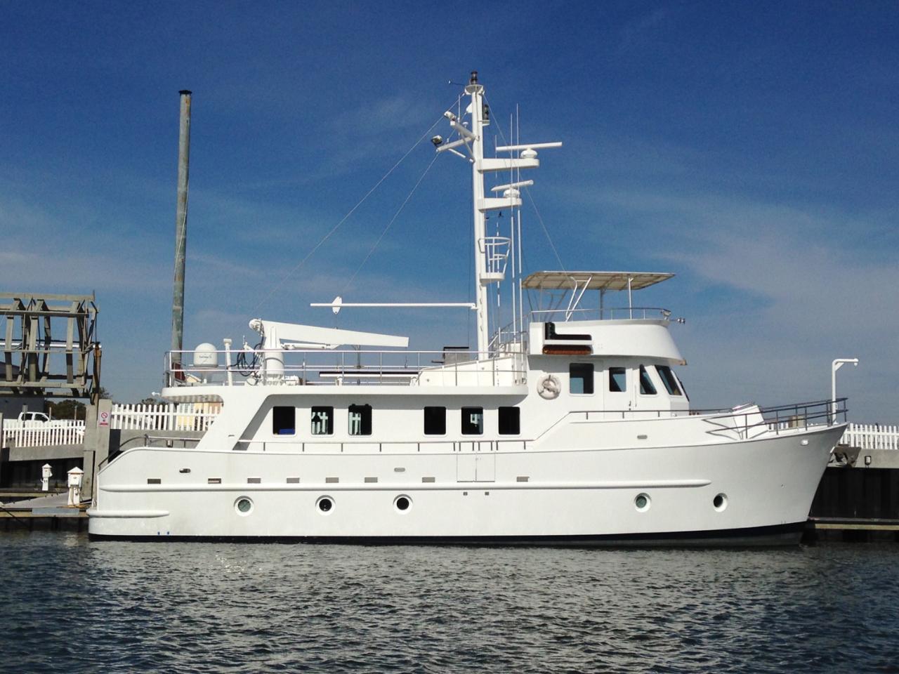 Custom 65 Steel Expedition Yacht