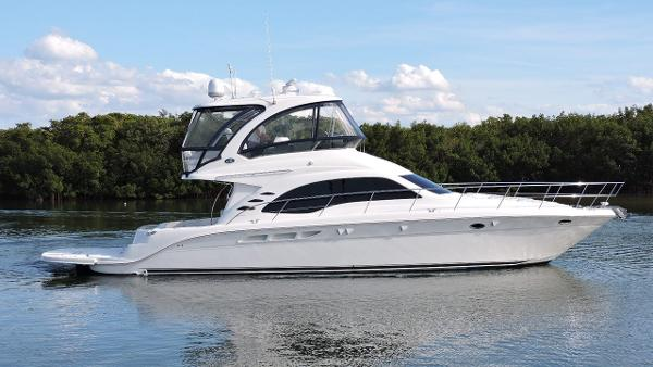 Sea Ray 52 Sedan Bridge Profile