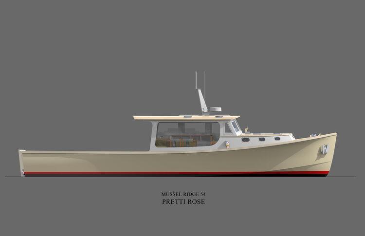 2020 mussel ridge lobster yacht, newport rhode island - boats.com