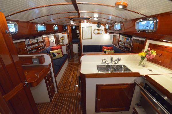 Morris Yachts 42 Interior
