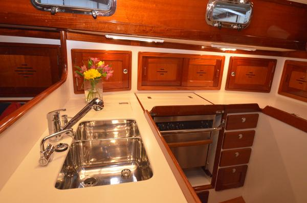 Morris Yachts 42 Galley