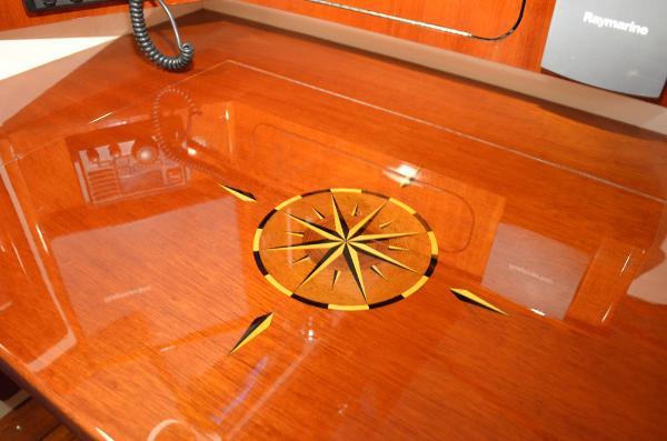 Morris Yachts 42 Nav table detail