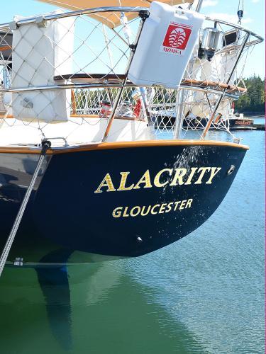Morris Yachts 42 transom
