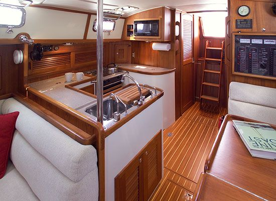 Pacific Seacraft 40- Galley