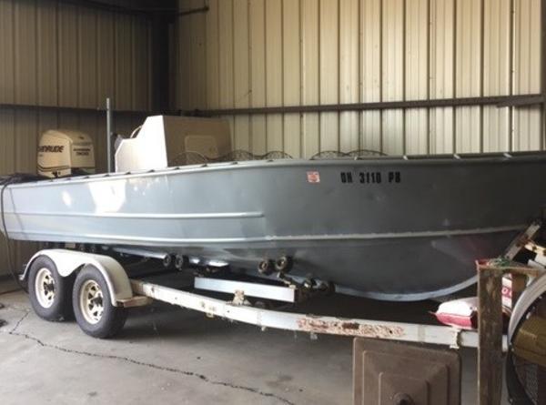 Commercial 21' Steel Work Boat w/trailer
