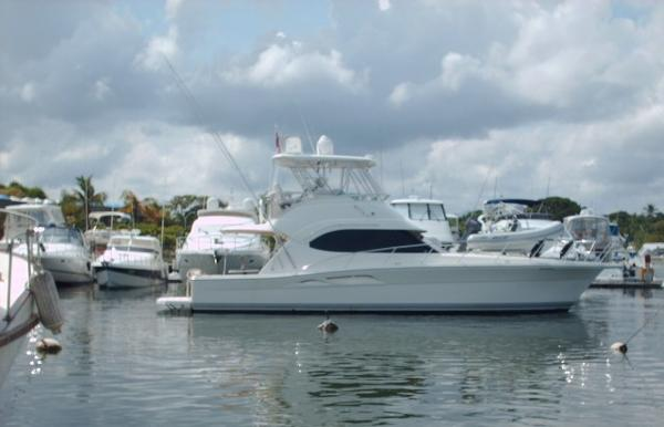 Riviera Sport Fisherman Starboard Profile