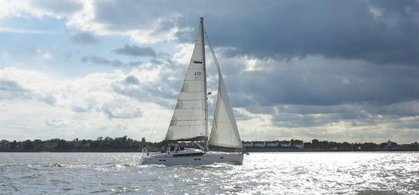 Gunfleet 43 Sailing