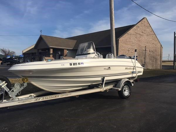 Wellcraft 180 Center Console