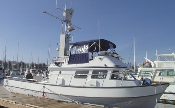 Sunnfjord Commercial Fishing Trawler
