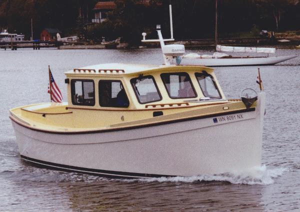 Chesapeake Marine Redwing 34 Lobster Boat MERLIN