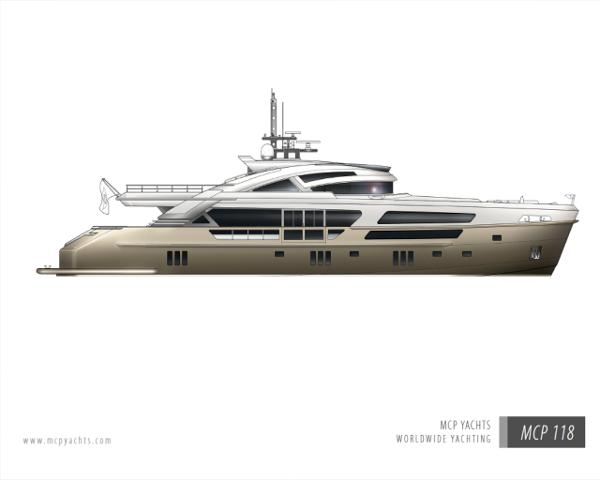 MCP Yachts 118
