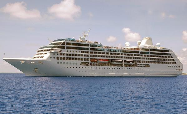 Modern Cruise Ship, 688 Passengers -Stock No. S2164