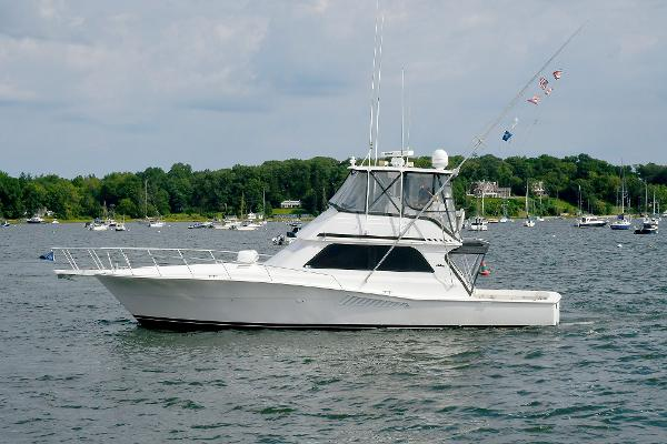 Viking 47 Convertible Port Side