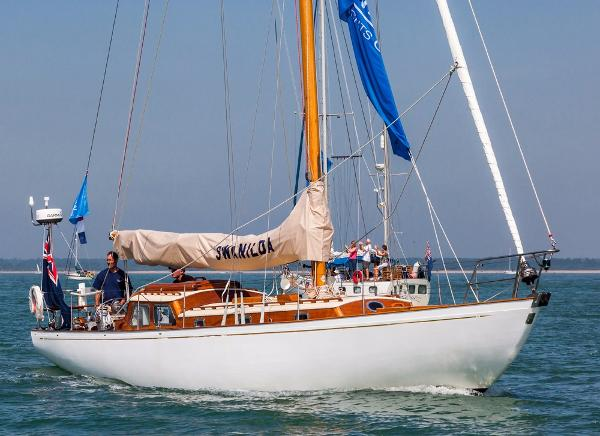 C A Nicholson  Bermudian Sloop