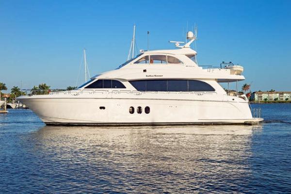 Hatteras 72 Motor Yacht Port Profile