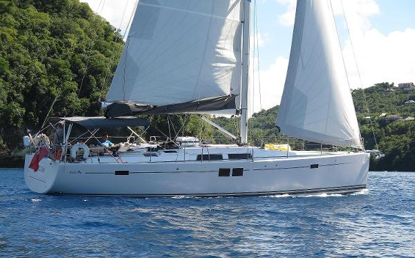 Hanse 505 BOAT SHOW OPPORTUNITY Under sail-2