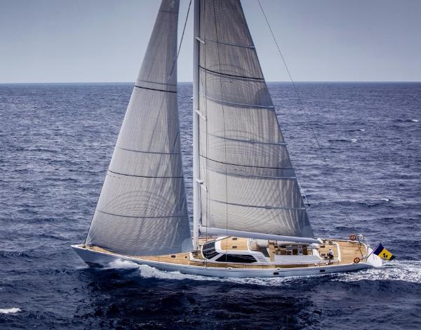 Nautor Swan 112 RS Underway