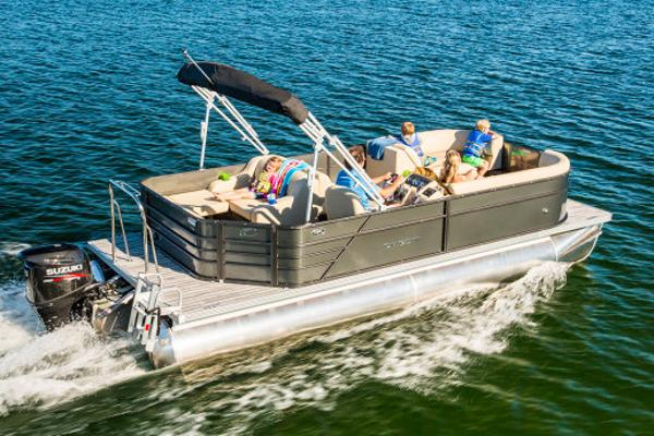 Crest Pontoon Boats I 220 SLRD Manufacturer Provided Image: Manufacturer Provided Image