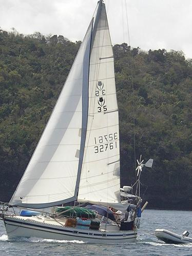 "Contest 35 ""Dutchess"" in the BVI's"