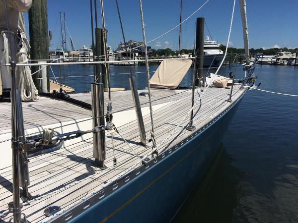 Allen Warwick Custom Offshore Sloop
