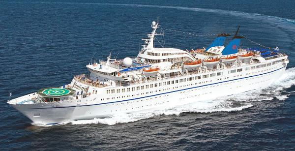 Clasic Cruise Ship, 714-912 Passengers -Stock No. S2001