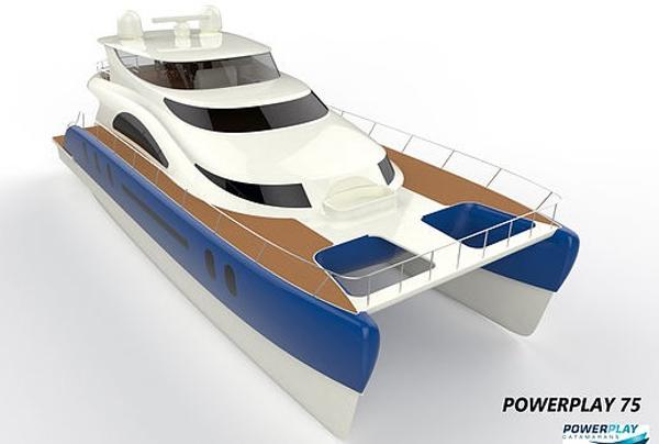 Powerplay Catamaran 75