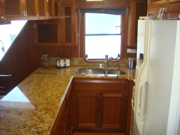 60' DeFever galley photo2