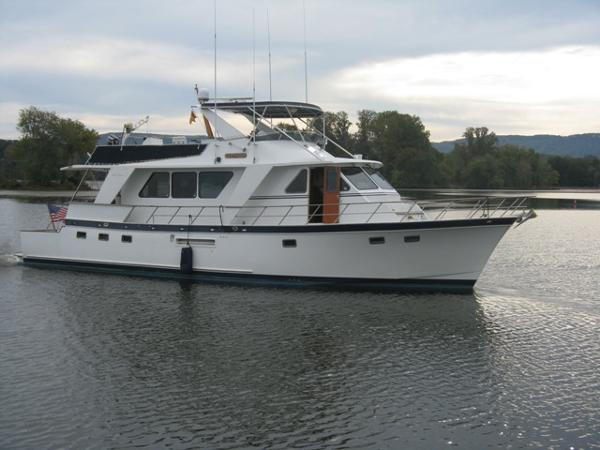 60' DeFever starboard profile