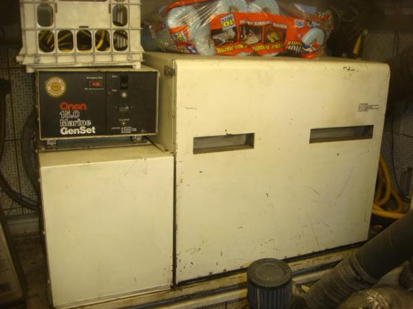 60' DeFever starboard generator