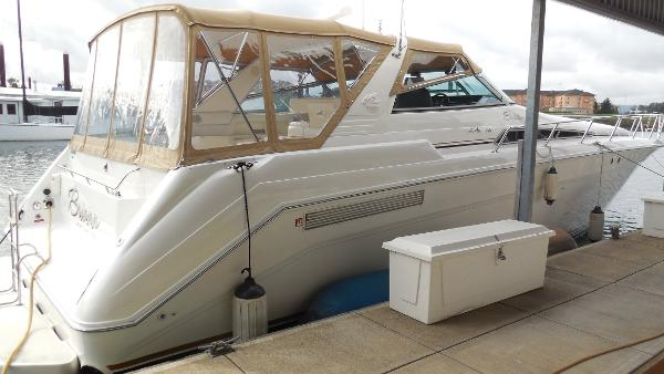 Sea Ray 500 Sundancer AFT VIEW